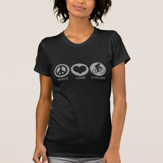 Peace Love Cycling (female) Shirt