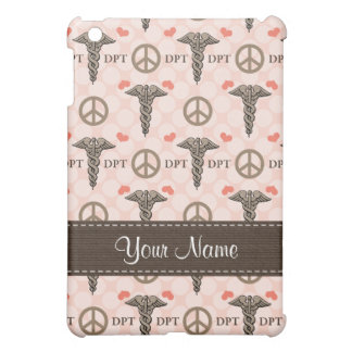 Peace Love Doctor of Physical Therapy Caduceus Doc Case For The iPad Mini