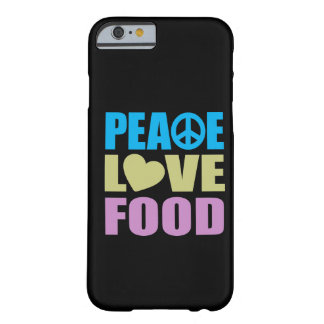 Peace Love Food Barely There iPhone 6 Case