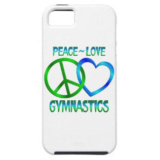 Peace Love GYMNASTICS iPhone 5 Covers