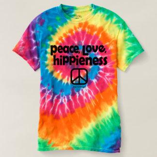 Peace Love Hippieness Tie Dye Tee Ladies