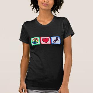 Peace, Love, Horses Tshirts