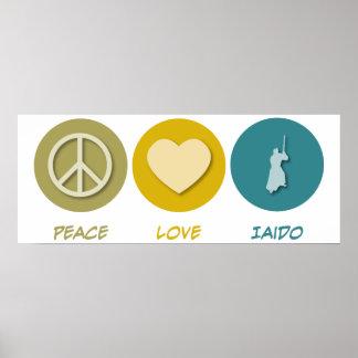 Peace Love Iaido Posters