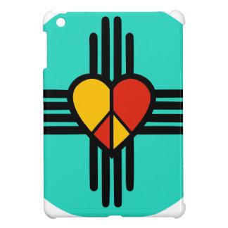 Peace Love New Mexico iPad Mini Cover