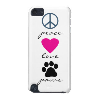 Peace Love Paws iPod Touch (5th Generation) Cover