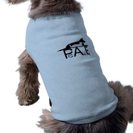 """PEACE. LOVE. PETS."" DOG T-SHIRT"
