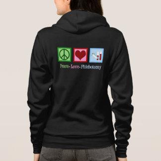 Peace Love Phlebotomy Hoodie