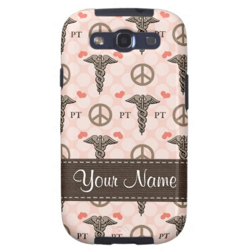 Peace Love Physical Therapy Samsung Galaxy S3 Case