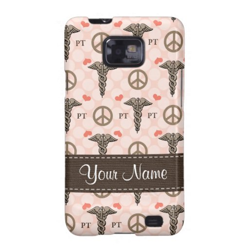 Peace Love Physical Therapy Samsung Galaxy S Case Galaxy S2 Covers