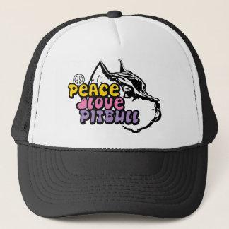 Peace Love Pitbull, Anti BSL Trucker Hat