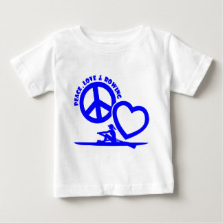 PEACE-LOVE-ROWING BABY T-Shirt