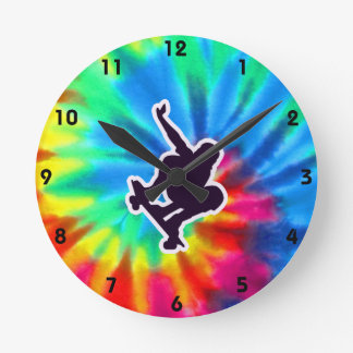 Peace, Love, Skateboarding Clock