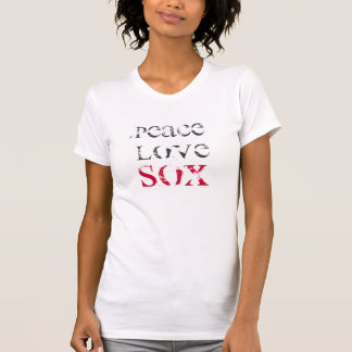 PEACE, LOVE, SOX T-Shirt