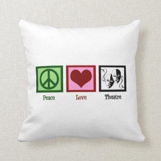 Peace Love Theatre Cushion