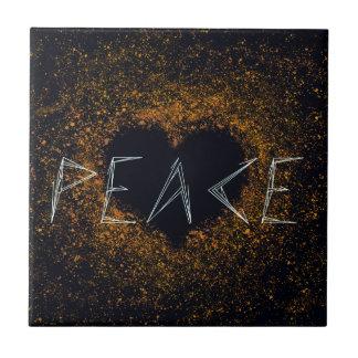 peace-love tile