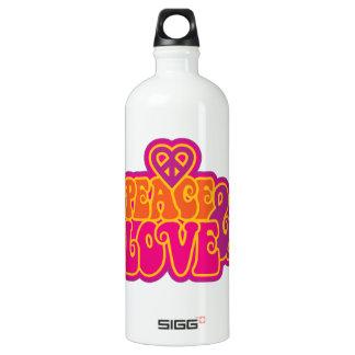 Peace & Love Water Bottle