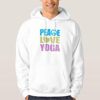 Peace Love Yoga Hoodie