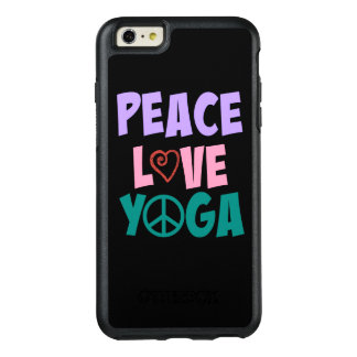 Peace Love Yoga iPhone Otterbox OtterBox iPhone 6/6s Plus Case