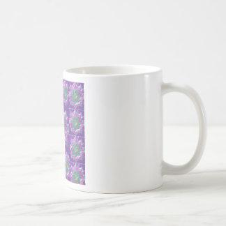 Peace n Joy: Holy Purple Star Constellation Basic White Mug