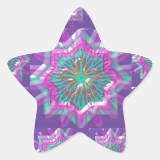Peace n Joy: Holy Purple Star Constellation Sticker