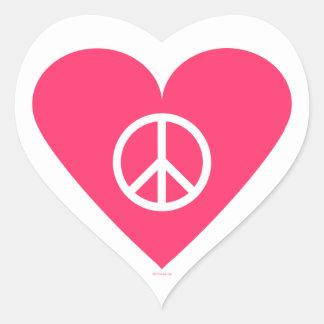 Peace of my Heart Sticker