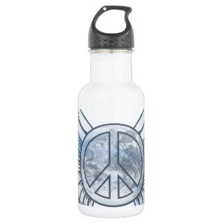 Peace on Earth 532 Ml Water Bottle