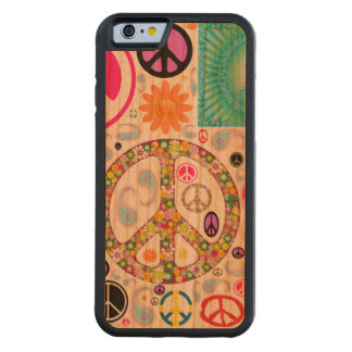 Peace & Paisley Collage Cherry iPhone 6 Bumper