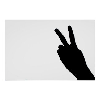 Peace Sign by Hand