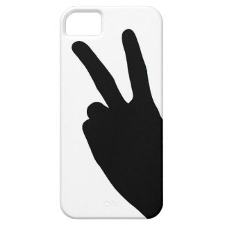 Peace Sign by Hand iPhone 5 Covers