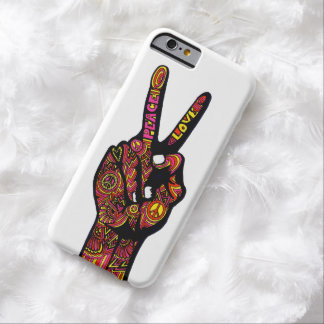 Peace Sign Hand Barely There iPhone 6 Case