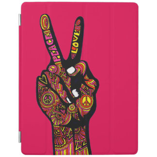 Peace Sign Hand iPad Cover
