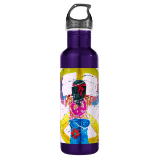 Peace Sign Hippie 710 Ml Water Bottle