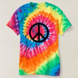 Peace Sign - Spiral Tie-Dye T-Shirt
