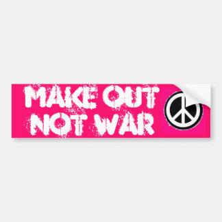 Peace Sign Sticker (5150), Peace Sign Sticker (... Bumper Sticker