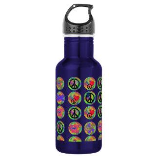 Peace Signs 532 Ml Water Bottle