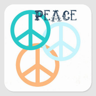Peace Signs Stickers