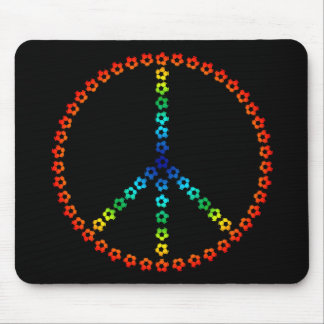 Peace Soccer Mouse Pad