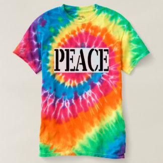 PEACE - Spiral Tie-Dye T-Shirt