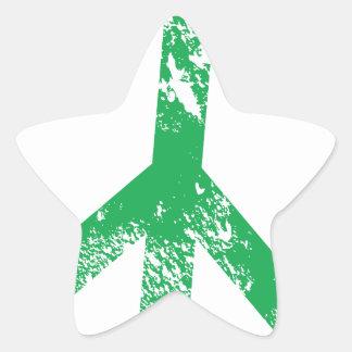 Peace Star Sticker