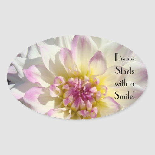 Peace starts with a Smile! stickers Cards Envelope