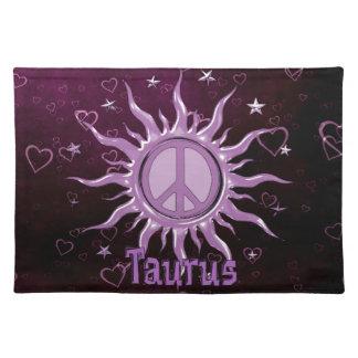 Peace Sun Taurus Placemat
