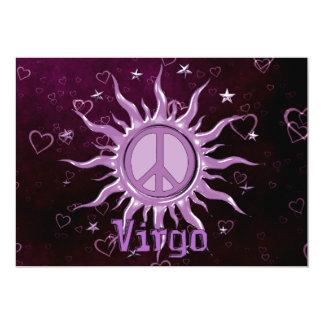 Peace Sun Virgo Card