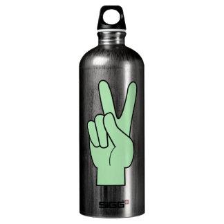 Peace Symbol Hand SIGG Traveller 1.0L Water Bottle