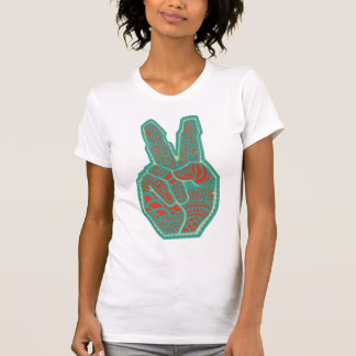 Peace Symbol Hand Shirts