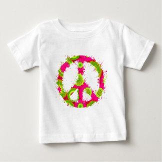Peace Symbol Tie Dye Ink 12 T Shirts