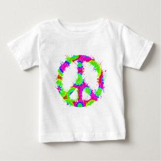 Peace Symbol Tie Dye Ink 2 T Shirts