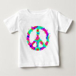 Peace Symbol Tie Dye Ink 4 Shirts