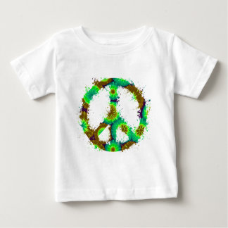 Peace Symbol Tie Dye Ink 8 Shirts