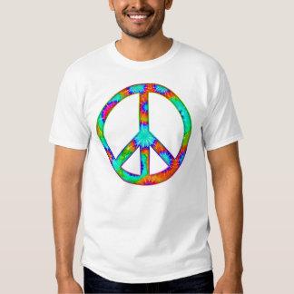 Peace Symbol Tie Dye Shirt