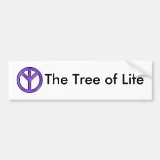 Peace , The Tree of Life Bumper Sticker